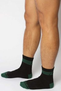 CellBlock 13 Bandit Ankle Socks Green A077