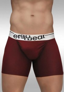 Ergowear Feel Modal Midcut Long Boxer Brief Underwear Burgun...