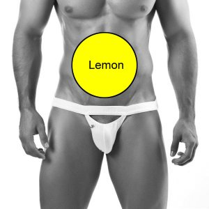 Joe Snyder Jock Strap Peekaboo 16 Lemon Underwear & Swimwear