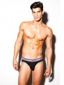 N2N Bodywear Quantum Brief Underwear Black UN92