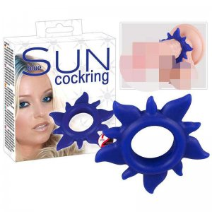You2Toys Play Sun Cock Ring Blue 0507440