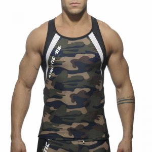 ES Collection Running Tank Top T Shirt Camouflage SP042