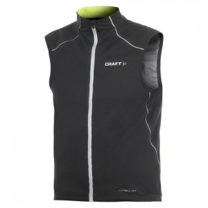 Craft Elite Bike Vest Jacket Black/Light Green 1900005