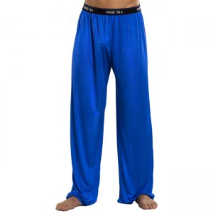 Magic Silk Silk Knit Lounge Pants Cobalt 1886