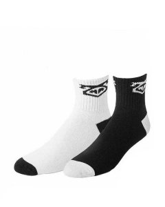 Nasty Pig Flasher Socks Black & White 7416