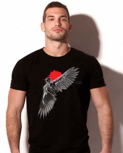 Alexander Cobb Icarus Wing Short Sleeved T Shirt 5C-19