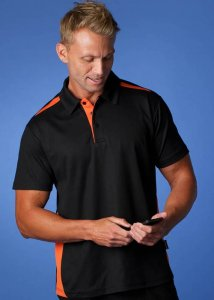 Aussie Pacific Paterson 180gm DriWear Mini-Waffle Polo Short Sleeved Shirt 1305