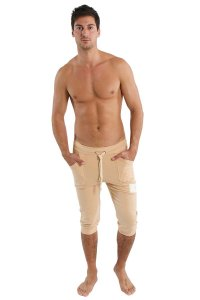 4-rth Edge Cuffed Yoga 3/4 Pants Sand