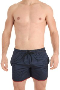 L'Homme Invisible Contour Boardshorts Beachwear Navy BA213-0...
