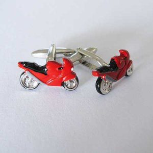 Distino Of Melbourne Novelty Motorbike Cufflinks CMOTORBIKE