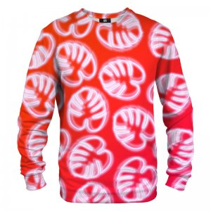 Mr. Gugu & Miss Go Neon Red Unisex Sweater S-PC1274
