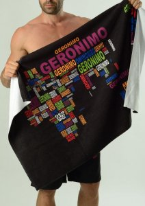Geronimo Towel Black 1623X1-1