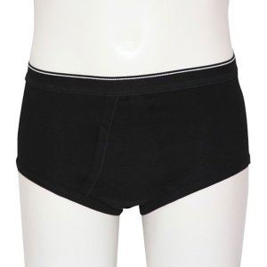 Minerva Classic Slip Brief Underwear Black 21000