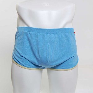 MIIW Comfortable Loose Boxer Brief Underwear Blue 8019-08