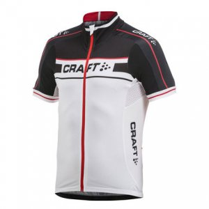 Craft Grand Tour Jersey Short Sleeved T Shirt Black/White 1902615