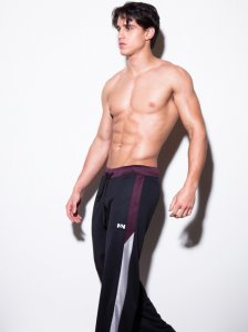N2N Bodywear Sport Sweat Pants Black SP3