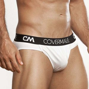 Cover Male Hung Brief Underwear White 136