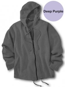 Chammyz Surf Bomber Sweater Deep Purple