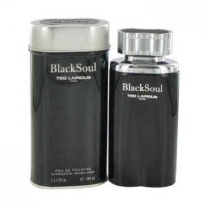 Ted Lapidus Black Soul Eau De Toilette Spray 3.4 oz / 100 mL Men's Fragrance 480478