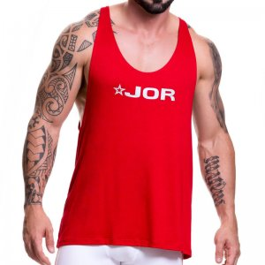 Jor GAME Tank Top T Shirt Red 0517