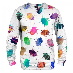 Mr. Gugu & Miss Go Colorful Cockroaches Unisex Sweater S-PC727