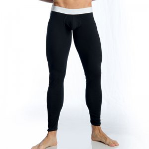 Gigo BLACK WHITE Extra Long Boxer Long Underwear Pants G1104...