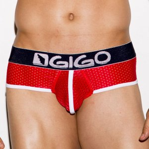 Gigo ELECTRIC RED Brief Underwear G01120