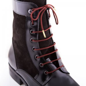Bondi Laces Boot Laces Tim Tam / Gold Tips BOOTBR1G