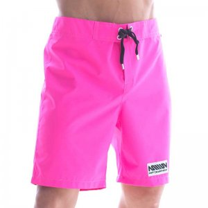 MIIW Physique Boardshorts Beachwear Neon Pink 4706-02