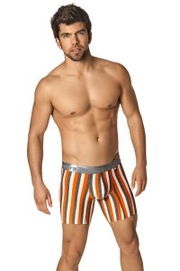 Xtremen Microfiber Boxer Brief Underwear Orange 51331