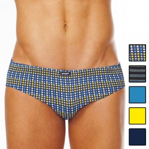 Clearance [5 Pack] Papi Assorted Conventional Low Rise Brief Underwear 554118-983