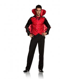 Elegant Moments Vampire Villain Costume 9505