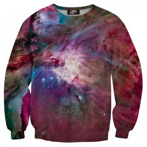 Mr. Gugu & Miss Go Pink Nebula Unisex Sweater S-PC004