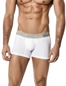 Clever Spinel Boxer Brief Underwear White 2211
