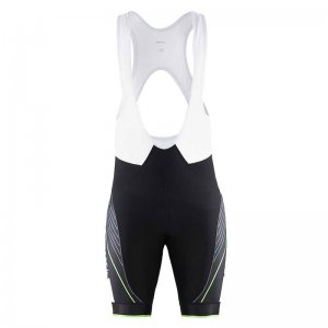 Craft Grand Tour Bibshort Bodysuit Black/Gecko 1902616