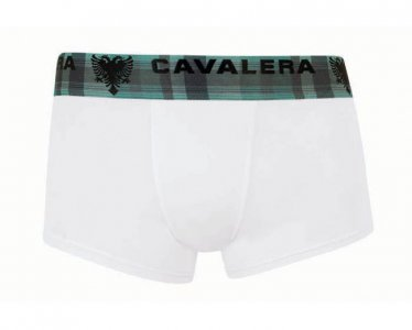 Cavalera Cotton/Elastane Trunk Boxer Brief Underwear White 430-02