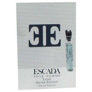 Escada Silver Light Vial (Sample) 0.05 oz / 1.5 mL Men's Fra...