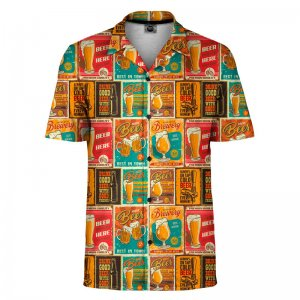 Mr. Gugu & Miss Go Beer Paradise Short Sleeved Shirt SH-SHT1489