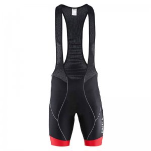 Craft Active Bike Bibshort Bodysuit Black/Bright Red 1900029