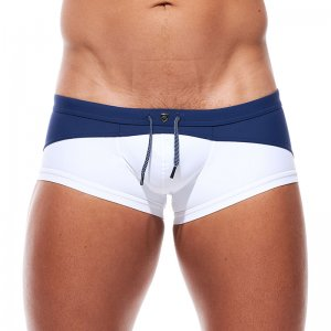 Gregg Homme COAST Duotone Square Cut Trunk Swimwear Navy 180...