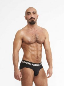 Mister B Urban Antwerp Jock Brief Jock Strap Underwear Black...