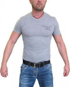 Mister B Logo Short Sleeved T Shirt Grey 400160