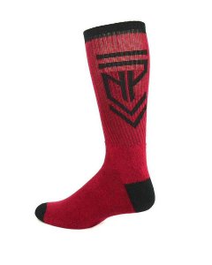 Nasty Pig Insignia Socks Red 7398