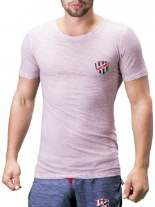 Barcode Berlin Alvin Short Sleeved T Shirt Lavender 91199-3106