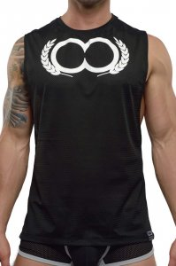 2EROS Olympus Tank Top T Shirt Black TX20-25