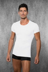 Doreanse Solid Short Sleeved T Shirt White 2545