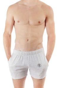 L'Homme Invisible Easy Lounge Sport Shorts Heather Grey HW13...