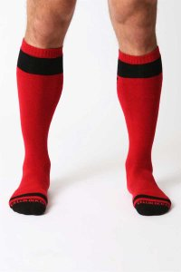 CellBlock 13 Vertigo Socks Red A023