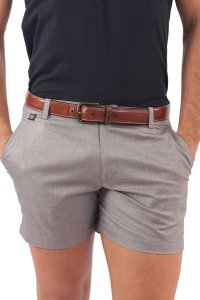 L'Homme Invisible City Chic Shorts Grey PPSH01-027