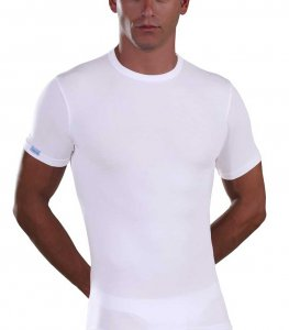 Lord Micromodal Short Sleeved T Shirt White 387